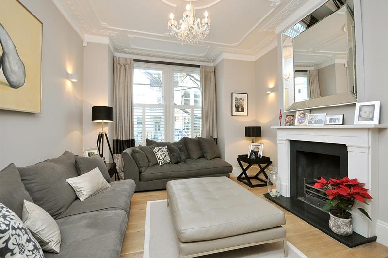 House Refurbishment - Living Room - Fulham