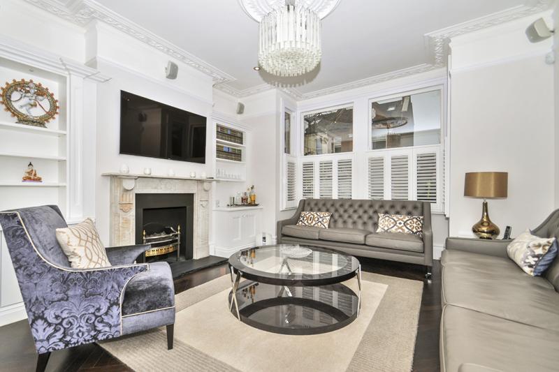 House Renovation - Living Room - Chiswick